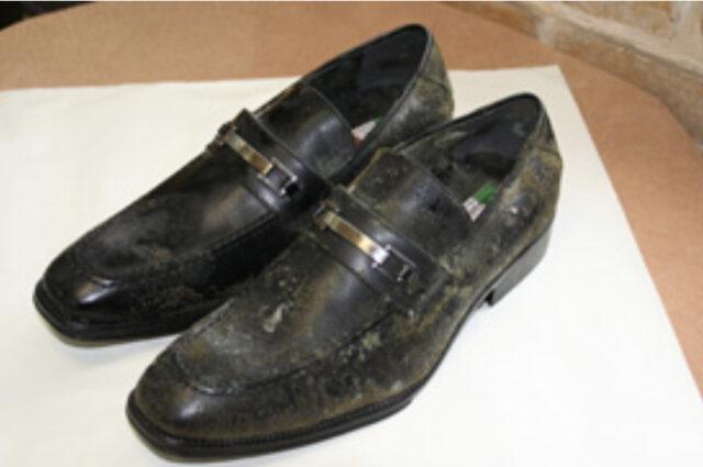 革靴カビ画像