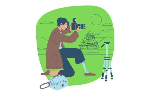 ラブグラフ関西のカメラマン